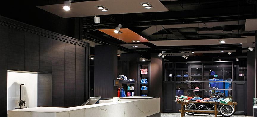 LED verlichting voor kledingwinkels