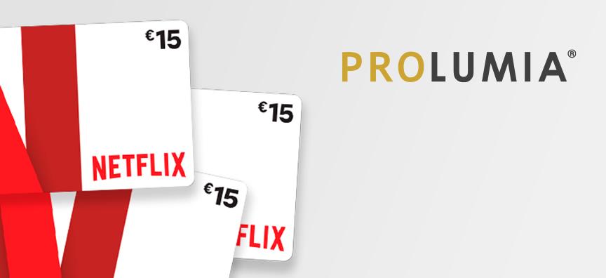 Zomeractie: gratis Netflix cadeaukaart!