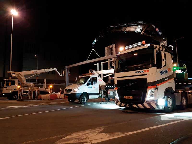 Onderstations snelweg voorzien van ABB Ty-Fast kabelbinders