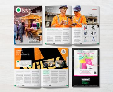 De 8e editie van het O tech. magazine is uit!