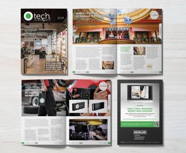 De 9e editie van het O tech. magazine is uit!