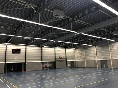 Sporthal de Springbok voorzien van Pro-Line Retrofit